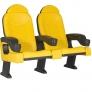 Кресло для залов Roma tip-up armrest2