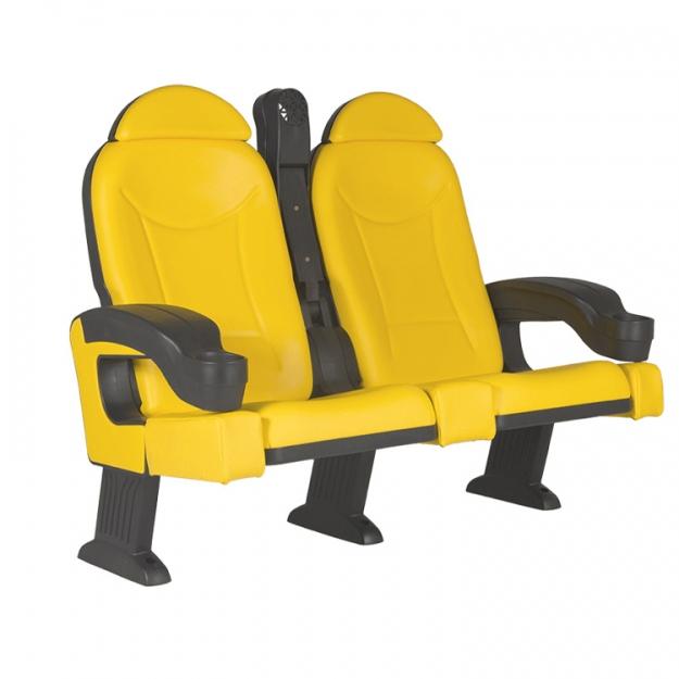 Кресло для залов Roma tip-up armrest