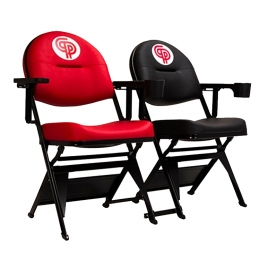 Кресло для залов Gold с подстаканником 1