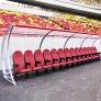 Скамья для запасных S04440 + Montreal Cоmfort Stadium 1